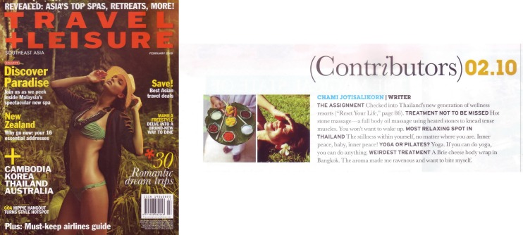 Chami Jotisalikorn luxury travel journalist, www.BarefootLuxe.wordpress.com, Asia top luxury travel wrtier