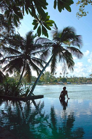 Taprobane island Sri Lanka, www.BarefootLuxe. net by Chami J., model Chami Jotisalikorn, About contact Chami Jotisalikorn Barefoot Luxe