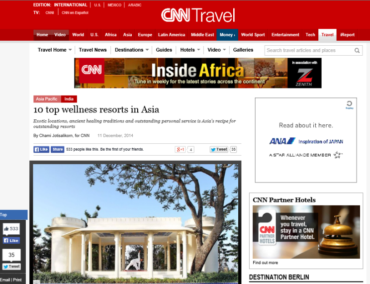 CNN Travel.Top Asian Spas by Chami Jotisalikorn, www.barefootluxe.net