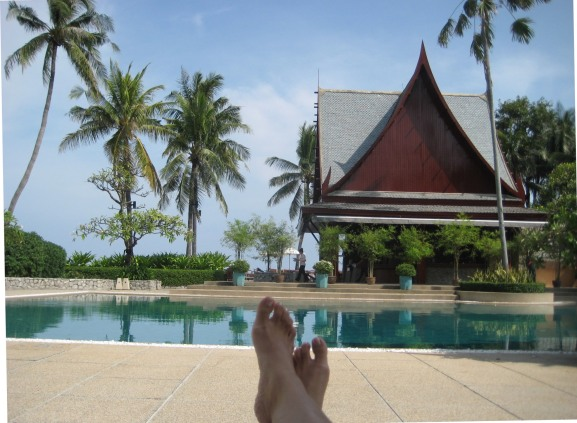 Chiva Som best luxury spa Thailand Asia, www.barefootluxe.net, About contact Chami Jotisalikorn Barefoot Luxe, barefoot luxury