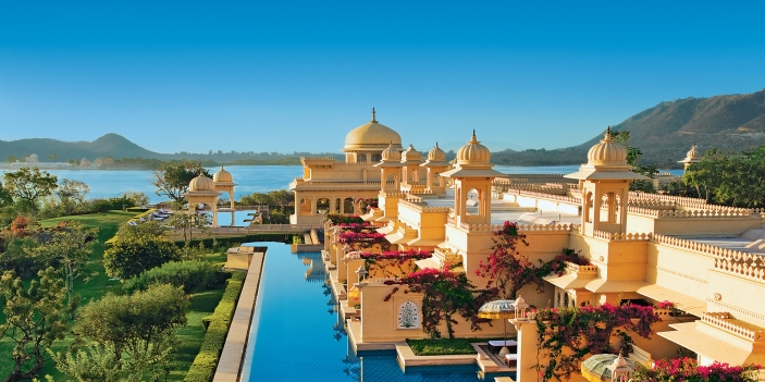 The Oberoi Udaivilas in Rajasthan, India, www.barefootluxe.wordpress.com