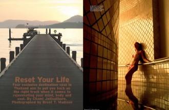 Thai Wellness T+L magazine, www.barefootluxe.net