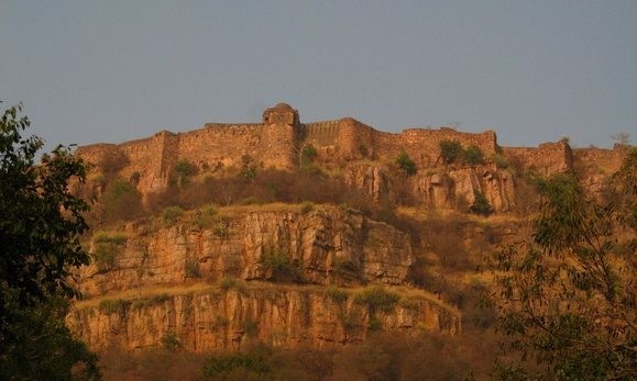 Ranthambore_fort national park India