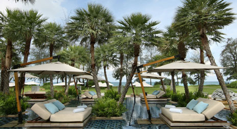 Anantara_Phuket beach pool, Mai Khao beach