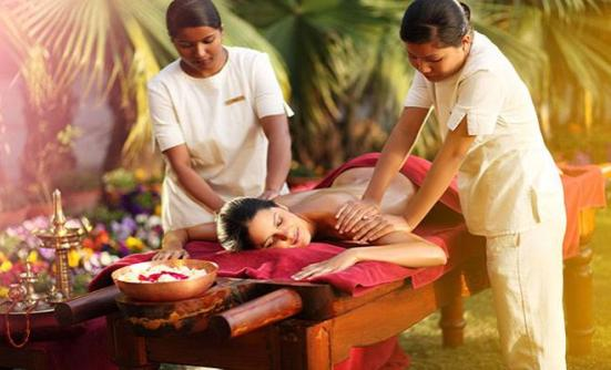 Ananda Himalayas spa treatment, www.BarefootLuxe.net