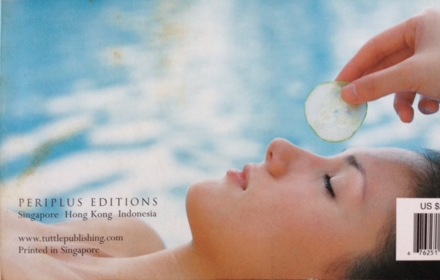 Cindy Bishop, Thai Spa Book by Chami Jotisalikorn cover, www.BarefootLuxe.net