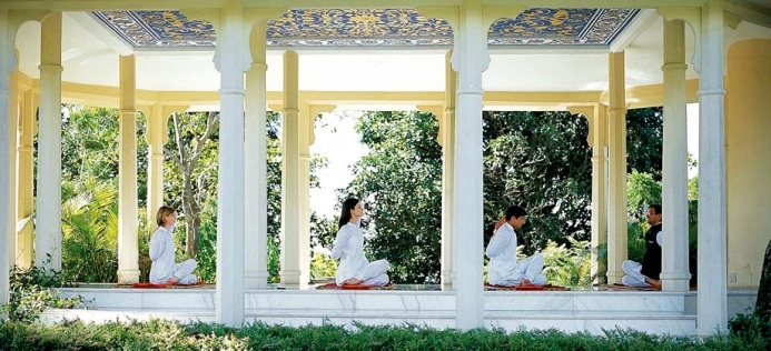 Ananda Himalayas luxury yoga Ayurveda wellness spa retreat India, www.barefootluxe.wordpress.com