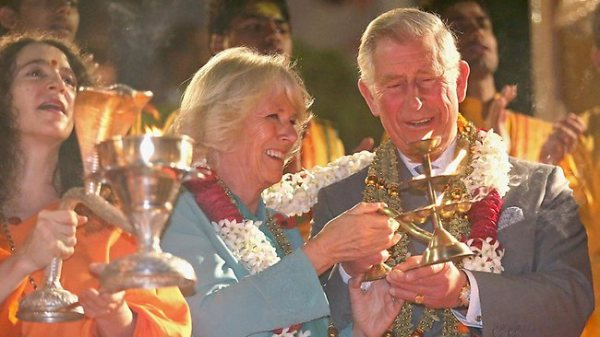 Prince Charles Rishikesh India