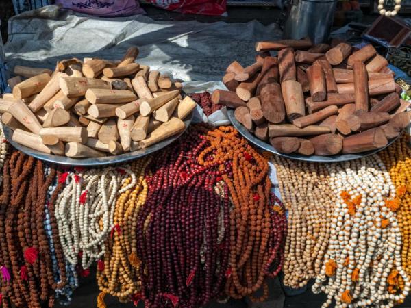 mala beads, Rishikesh