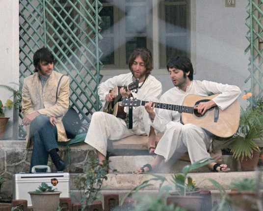 Beatles ashram Rishikesh, India 1968,