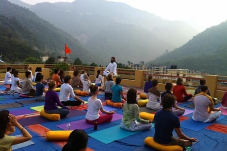 Yoga ashram Rishikesh India, Rishiskesh India