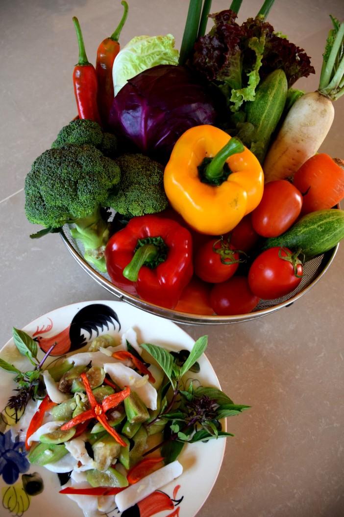 organic vegetarian cuisine, vegetarian hotel Thailand, best wellness spa retreat Thailand Asia, www.BarefootLuxe.net