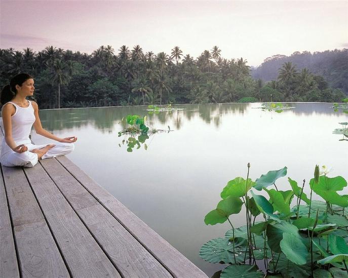 Four Seasons Sayan Ubud Bali, best luxury resort spa Asia, www.BarefootLuxe.net