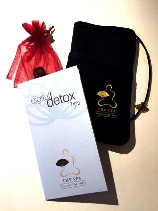 digital detox kit MOH Tokyo spa