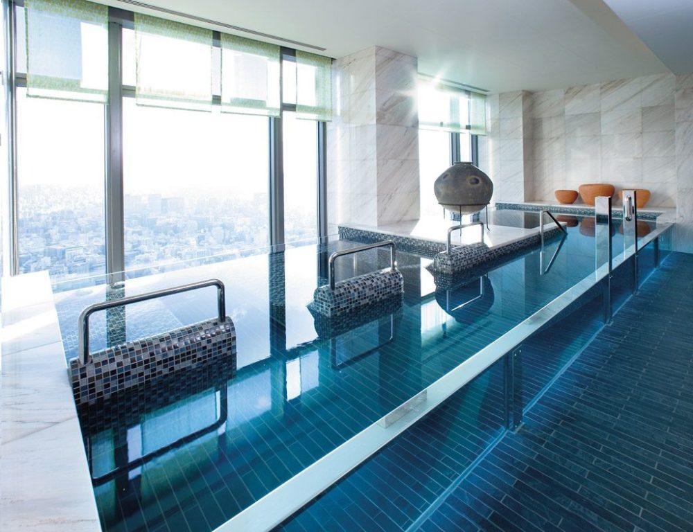 Mandarin Oriental Tokyo spa, www.BarefootLuxe.net, luxury hotel spa Asia Tokyo