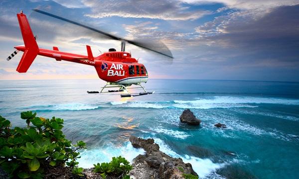 Dude Your Chopper Awaits  Asias First Luxury HeliSurfing  La Four Seaso