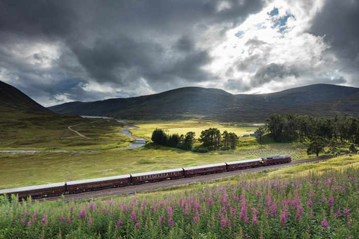Belmond Royal Scotsman Bamford Haybarn Spa, luxury train spa Europe, luxury wellness travel, www.BarefootLuxe.net