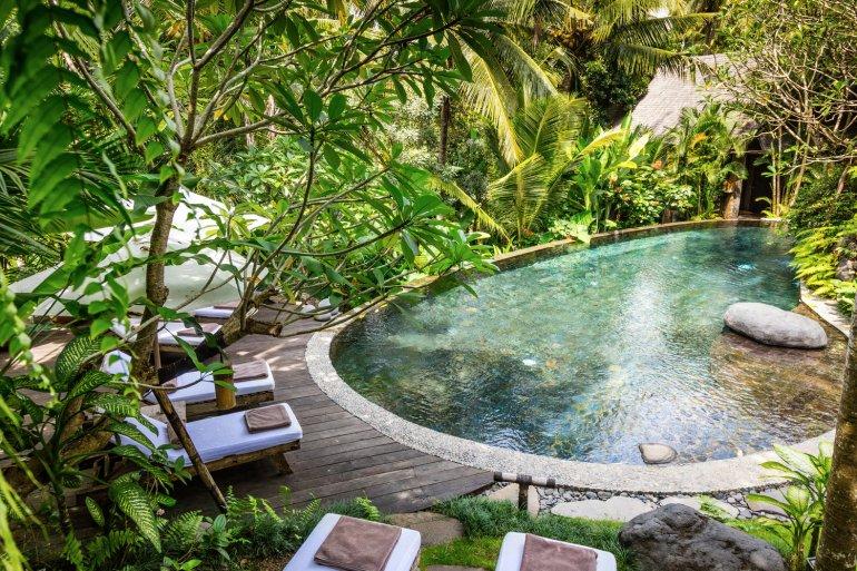 Stone House Bali, luxury boutique hotel Ubud Bali, www.BarefootLuxe.net