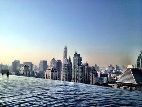 Okura Prestige Bangkokok, luxury hotel Bangkok, infinity pools Bangkok, www.BarefootLuxe.net