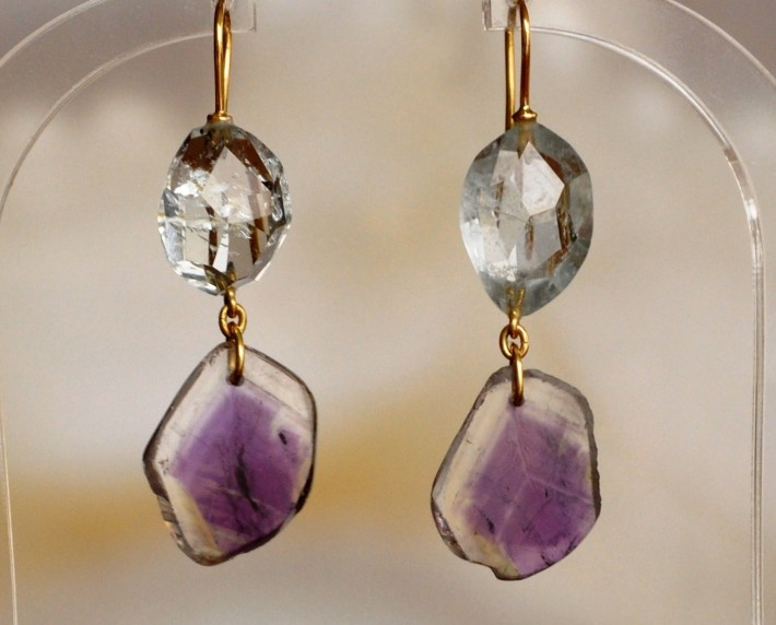 Yang Riches Jewellery, natural raw gemstone jewellery, www.BarefootLuxe.net