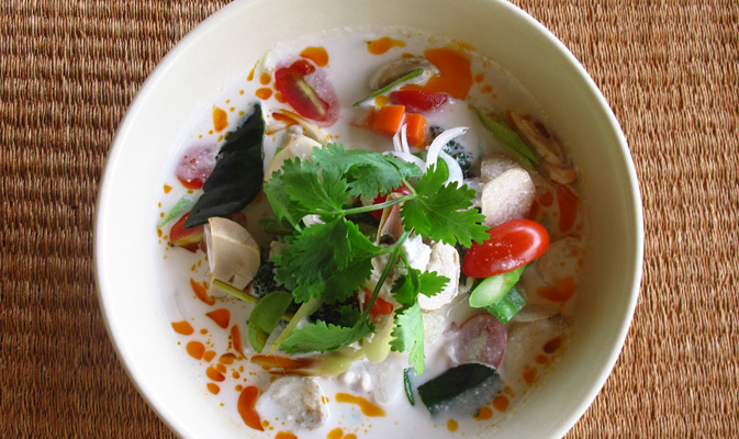 kamalaya koh samui health food, best yoga retreat Thailand, www.BarefootLuxe.net