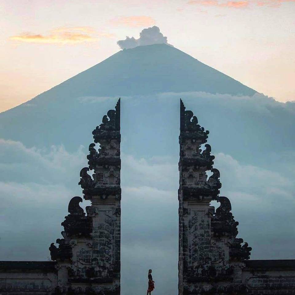 mother temple -wonderful Indonesia